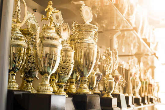 Trophy awards for champion leadership