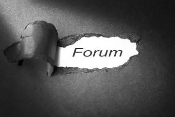 forum on paper