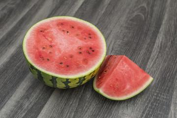 Wassermelone in Stücken