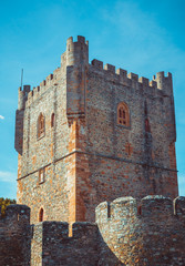Tower of the fort castillo of Braganza.
