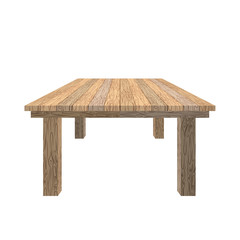 Wooden table. Tabletop wood texture. Old desk on white backgroun
