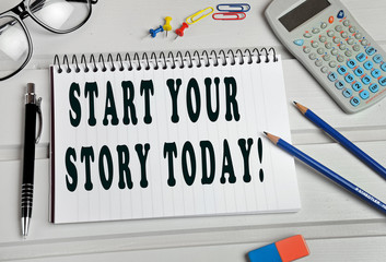 Start your story today!