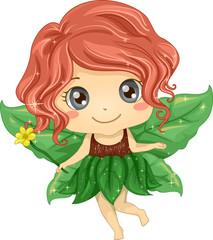 Kid Girl Nature Fairy