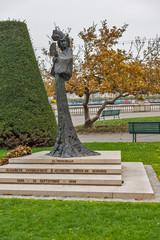 Monument of Empress Elisabeth of Austria,  Geneva, Switzerland