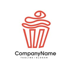 bakery logo icon Vector
