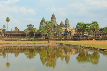 Angkor Wat of UNESCO's world heritage in Siem Reap, Cambodia