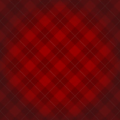 Lumberjack checkered diagonal square plaid red pattern backgroun