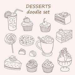 Cakes and dessert