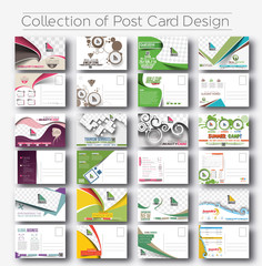 Postcard Design for Opening invitation