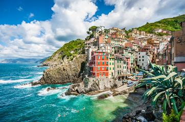 Fototapeta Riomaggiore, Cinque Terre, Liguria, Italy