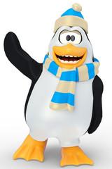penguin hi five