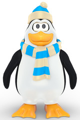 penguin stand up