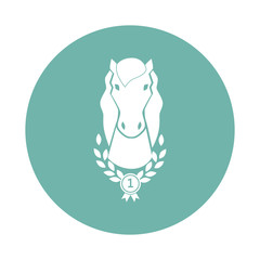 Champion horse icon