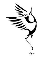 dancing cranes 1