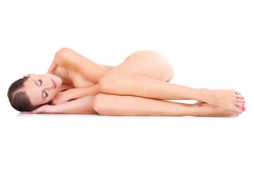 Portrait of a sensual woman