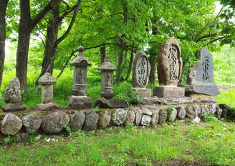 白馬村の石仏群