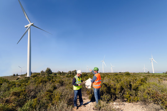 Engineers of Wind Turbine / Engineers of wind turbine control projects and production.