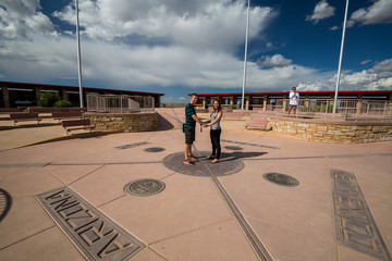 FOUR CORNERS MONUMENT, USA