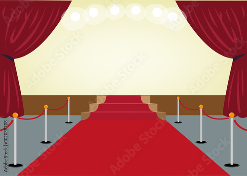 Red Carpet Border Or Frame For S And Other Promotional Marketing Backgrounds