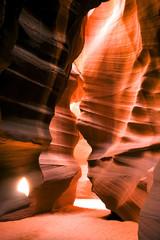 Antelope Canyon Navajo Rock Slot Formation Utah Southwest USA