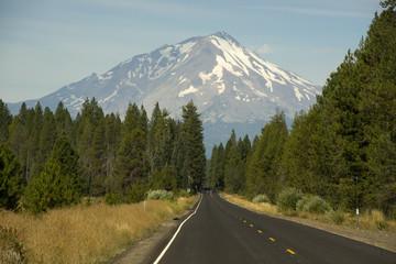 Road to Mount Shasta