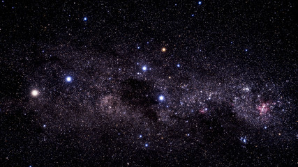 Stars, milky way. Elements of this image furnished by NASA