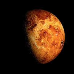 Venus Elements of this image furnished by NASA