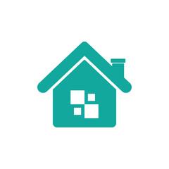 House Logo Icon - Exclusive Stock Vector Design
