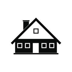 Cottage black simple icon