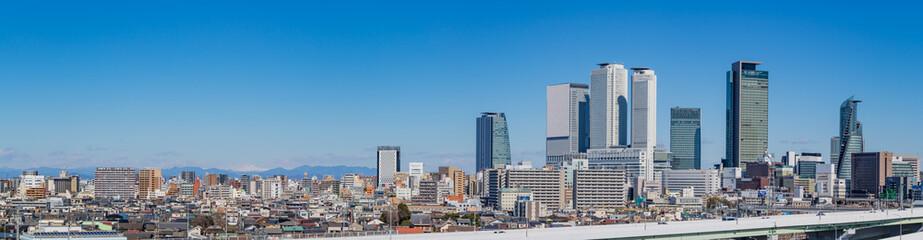 名古屋のパノラマ写真
