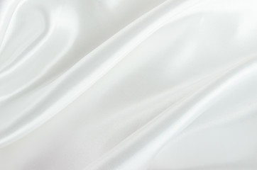 Abstract background - white satin textile background