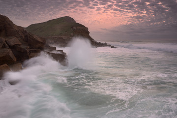 breakers , Coast Sintra, Sintra, Portugal