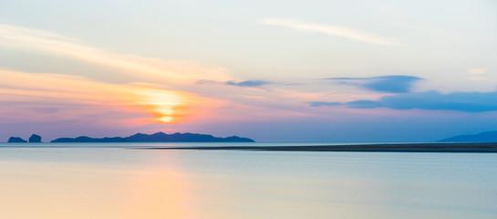 sea calm Sunset