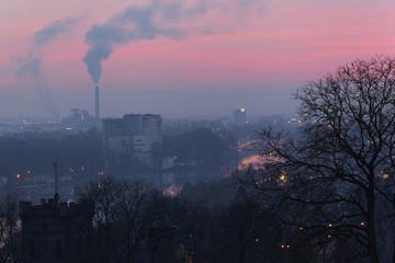Blick von der Peterstirn auf Schweinfurt, Unterfranken, Bayern,