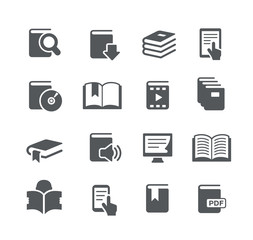 Book Icons -- Utility Series