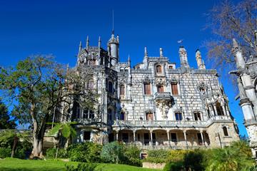 Quinta da Regaleira in Sintra, Portugal. HDR- high dynamic range