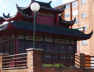 Restaurante chino.