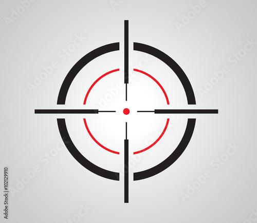 """Crosshair, Reticle, Viewfinder, Target Graphics"" Stock"