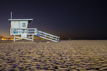 Santa Monica Lifeguard Stand