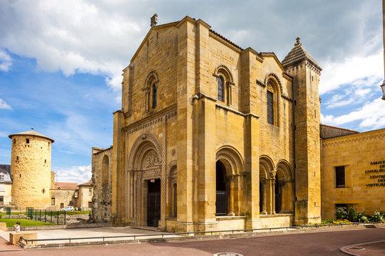 Charlieu abbey, Department Loire, Rhone-Alpes, France