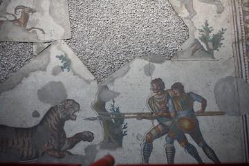 Old Fresco Art in Istanbul Turkey