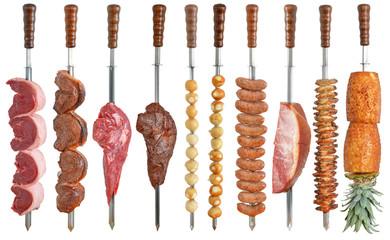 Brazilian cuisine grilled
