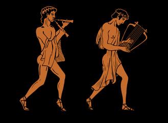 ancient Greek musicians.