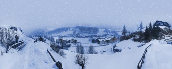 Mountain ski resort Solden Austria