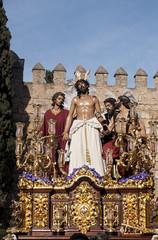 procesión de Jesús despojado en la semana santa de Sevilla