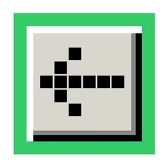 indication arrow icon