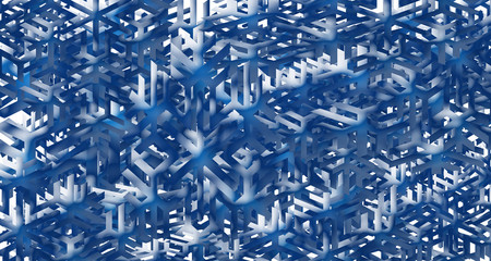 The photo image of snowflakes made out of paper that are haotychnymu condition. Image of light blue. Photos can be wallpaper, screen saver to the program