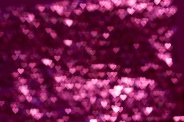Blur or bokeh heart background