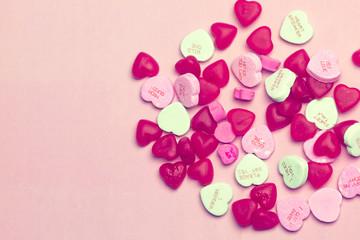 Candy Hug & Kisses Typography