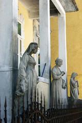 Sculptures Djukanovic family house, Cetinje